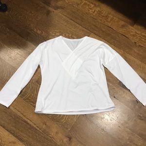 Flowy white long sleeve